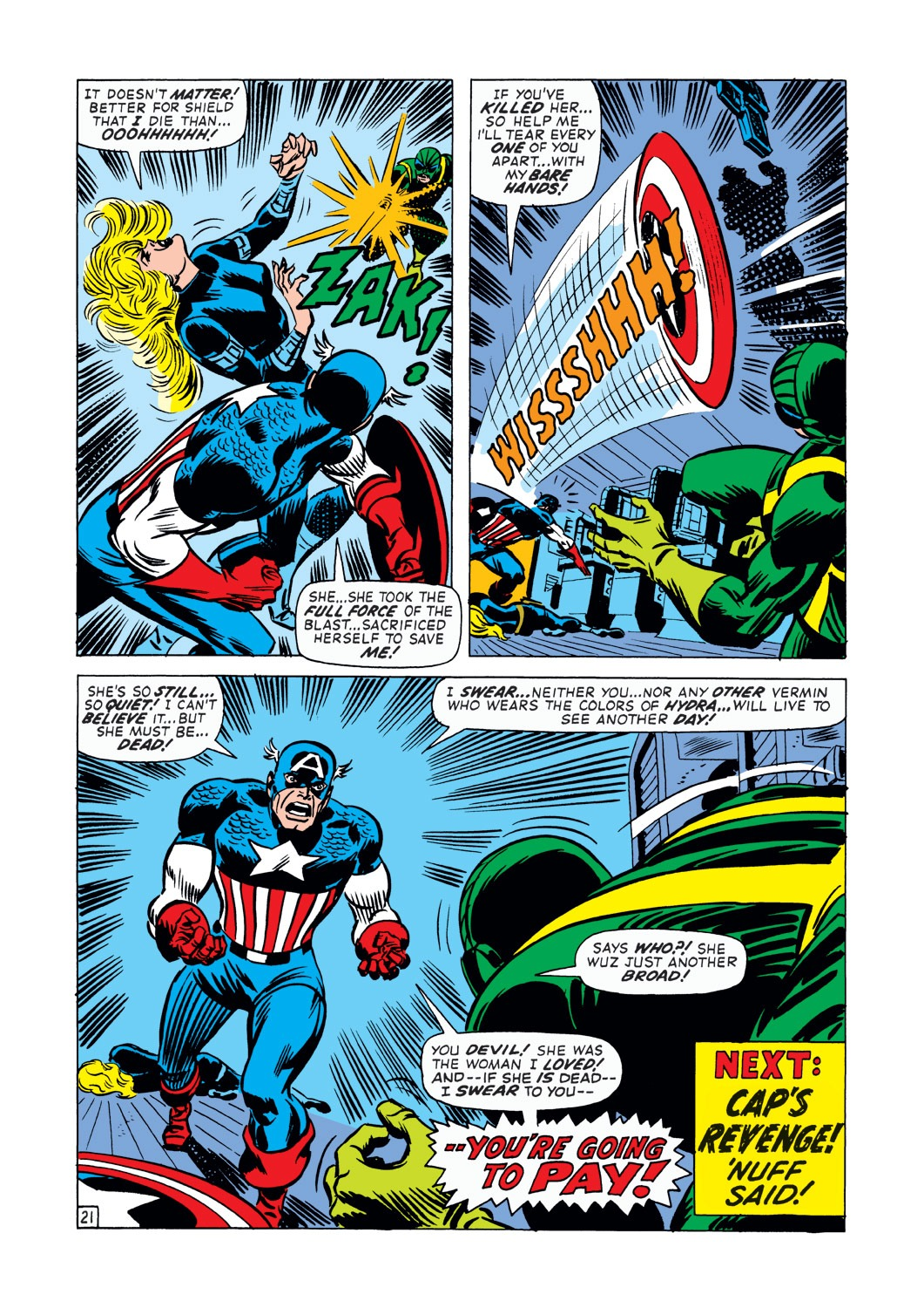 Captain America (1968) Issue #145 #59 - English 22