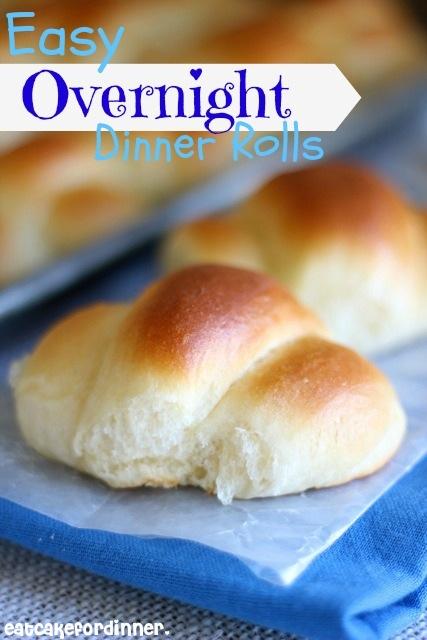 Eat Cake For Dinner: Easy Overnight Dinner Rolls