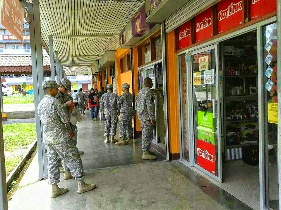 Tentera AS Jalani Latihan Di T ganu K tan