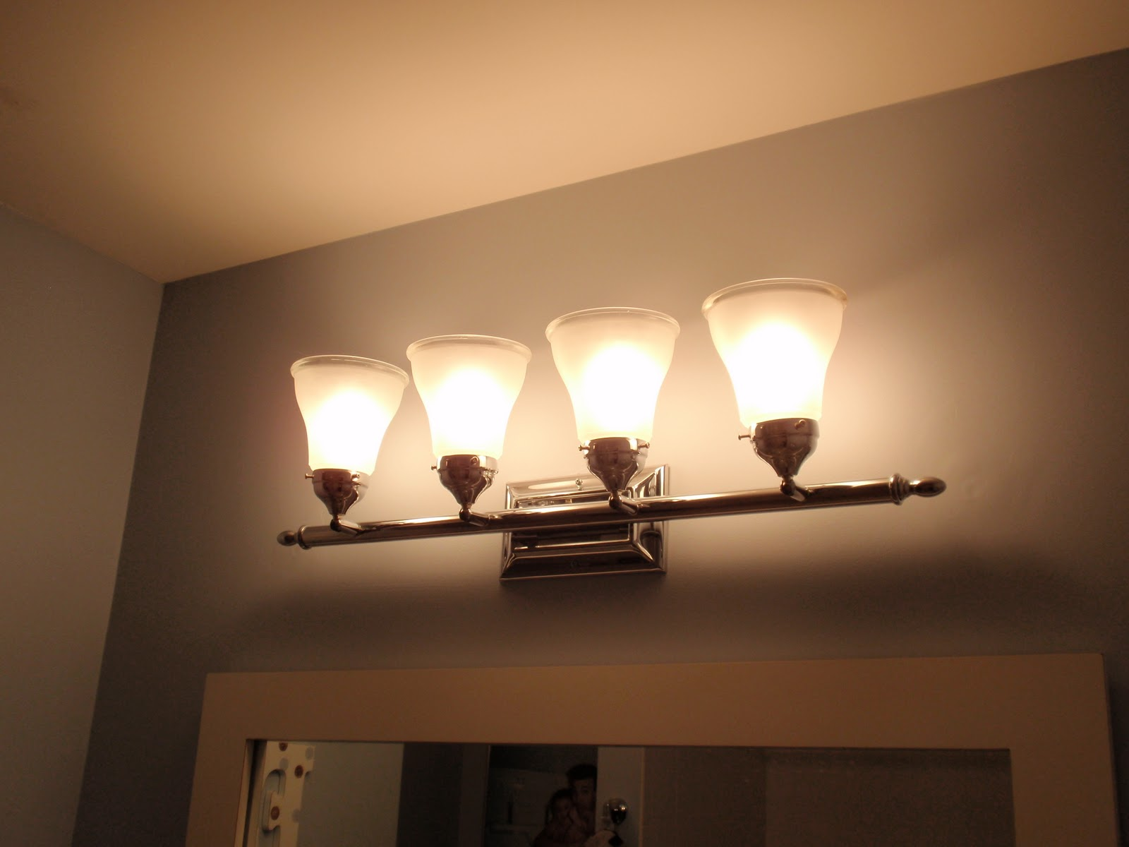 Bathroom Enchanting Light Fixtures Lowes Lighting Over: DIY By Design: Bathrooms