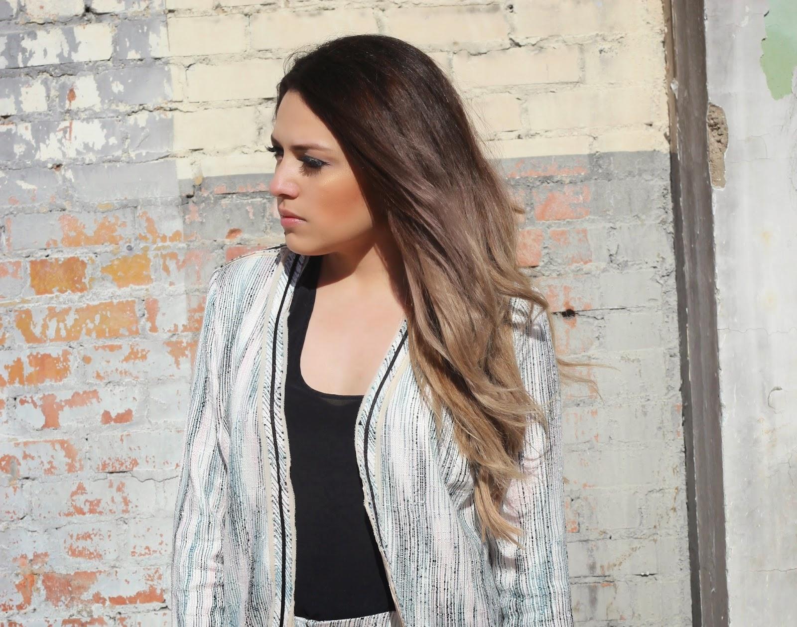 Shorts Suit Hk Ombre Hair Extensions Review Ashley Meza Dallas