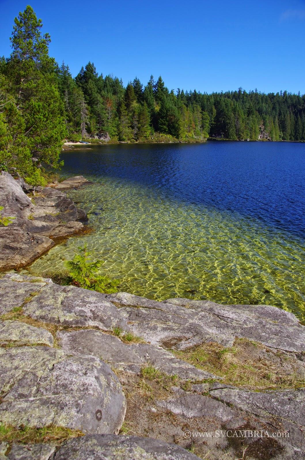 Hague Lake, Mansons Bay, Cortes Island.