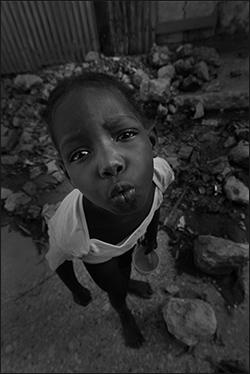 """Czarno-Białe Haiti"""