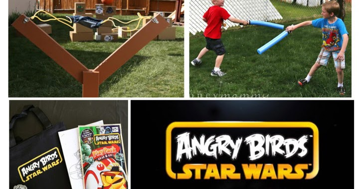 Honey Mommy Angry Birds Star Wars Birthday Party