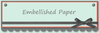 Embellished Paper