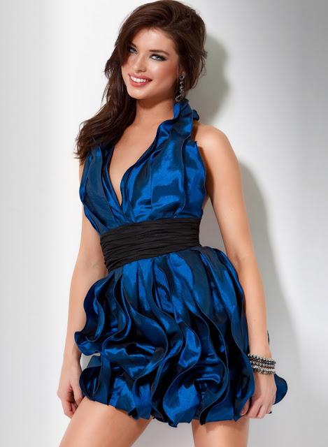 Blue Party Dresses