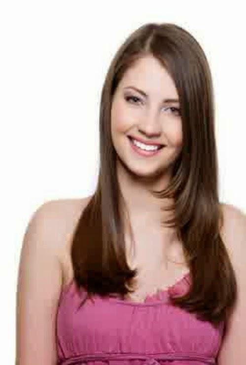 Model Gaya Rambut Layer Panjang Dan Pendek Berponi Lurus Lengkap - Gaya rambut pendek berponi