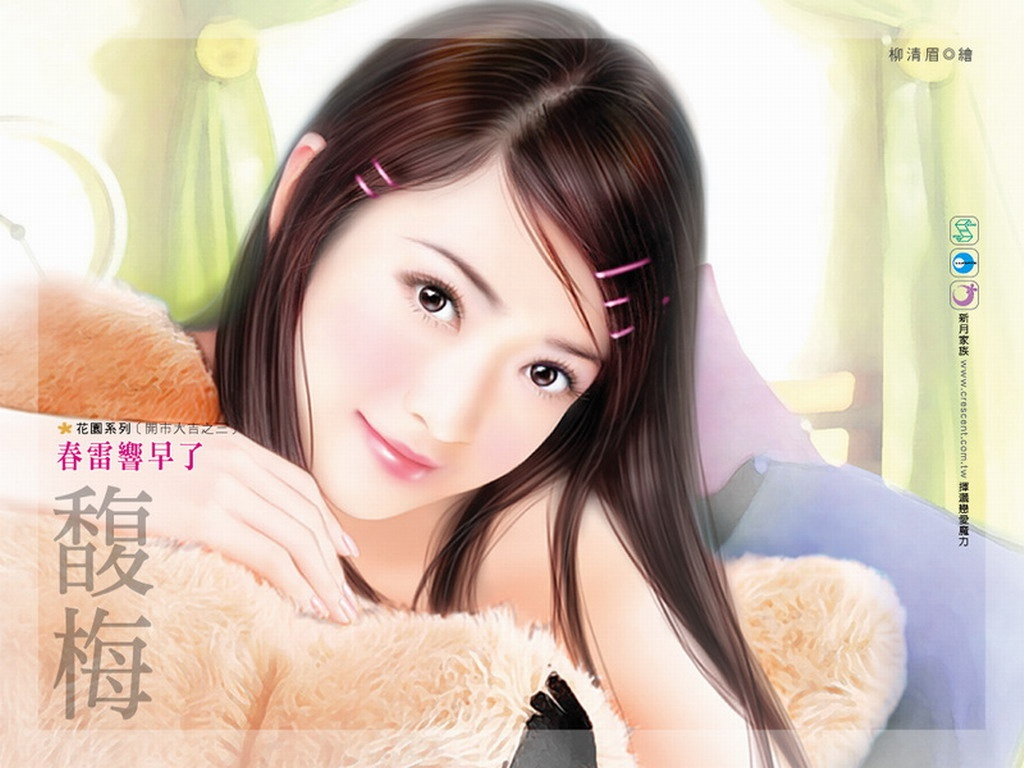 cute chinese girl fairy background wallpaper | fairy background