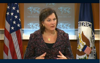 US State Department Spokesperson Victoria Nuland