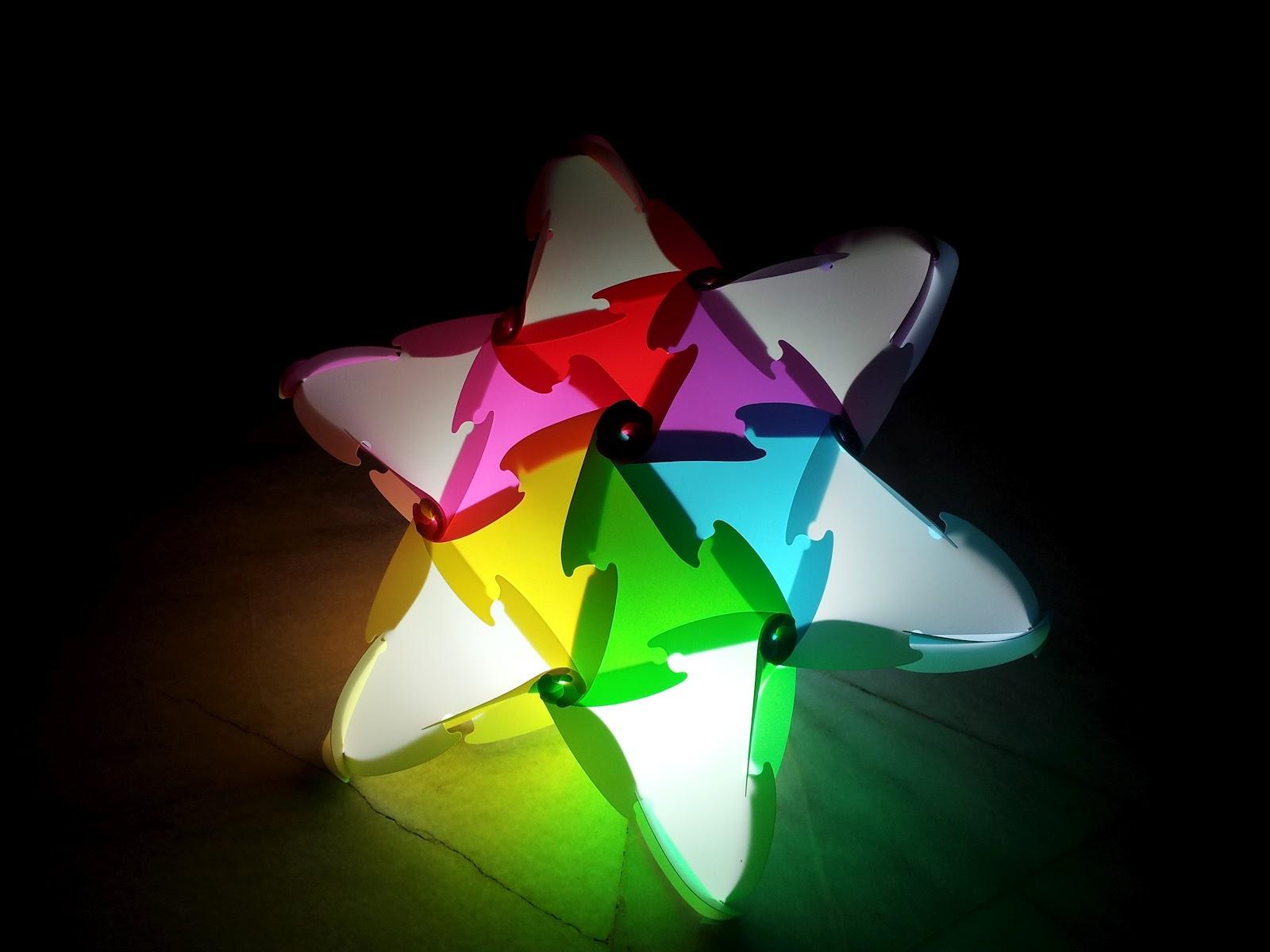 vlightdeco iq light puzzle pendant jigsaw lamp styles 09 01 12. Black Bedroom Furniture Sets. Home Design Ideas