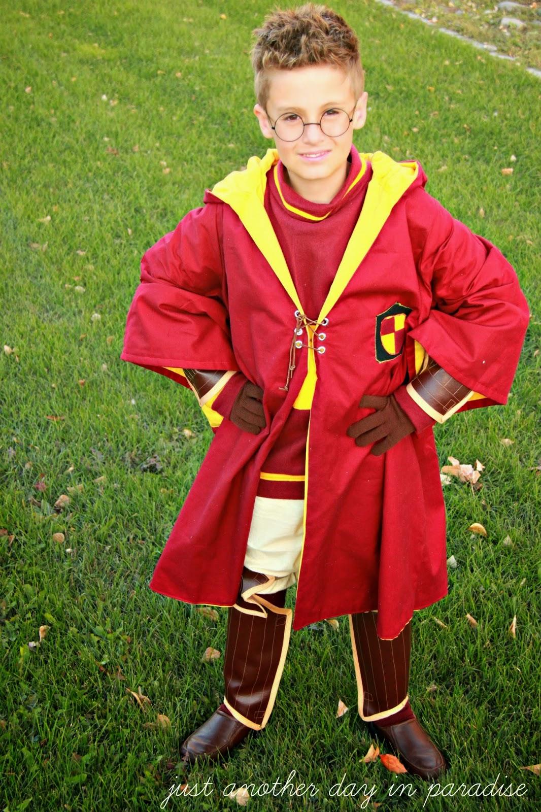 quidditch Harry costume potter