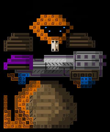 Ascii xcom snakeman