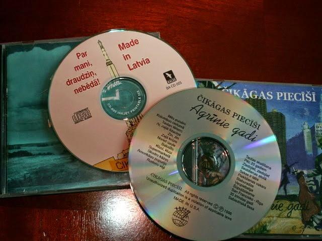 Diski - izlases - izdoti Latvijā