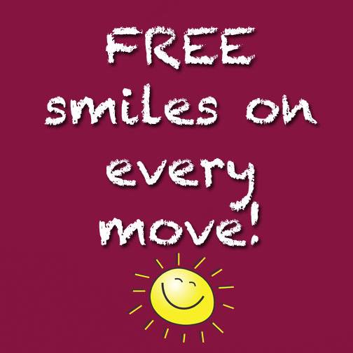 FREE smiles with 4 Friends Moving North Palm Beach