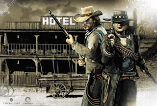 Call of Juarez Bound in Blood Cowboys with Guns HD Wallpaper