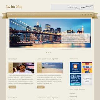 Larisa Mag Blogger Template