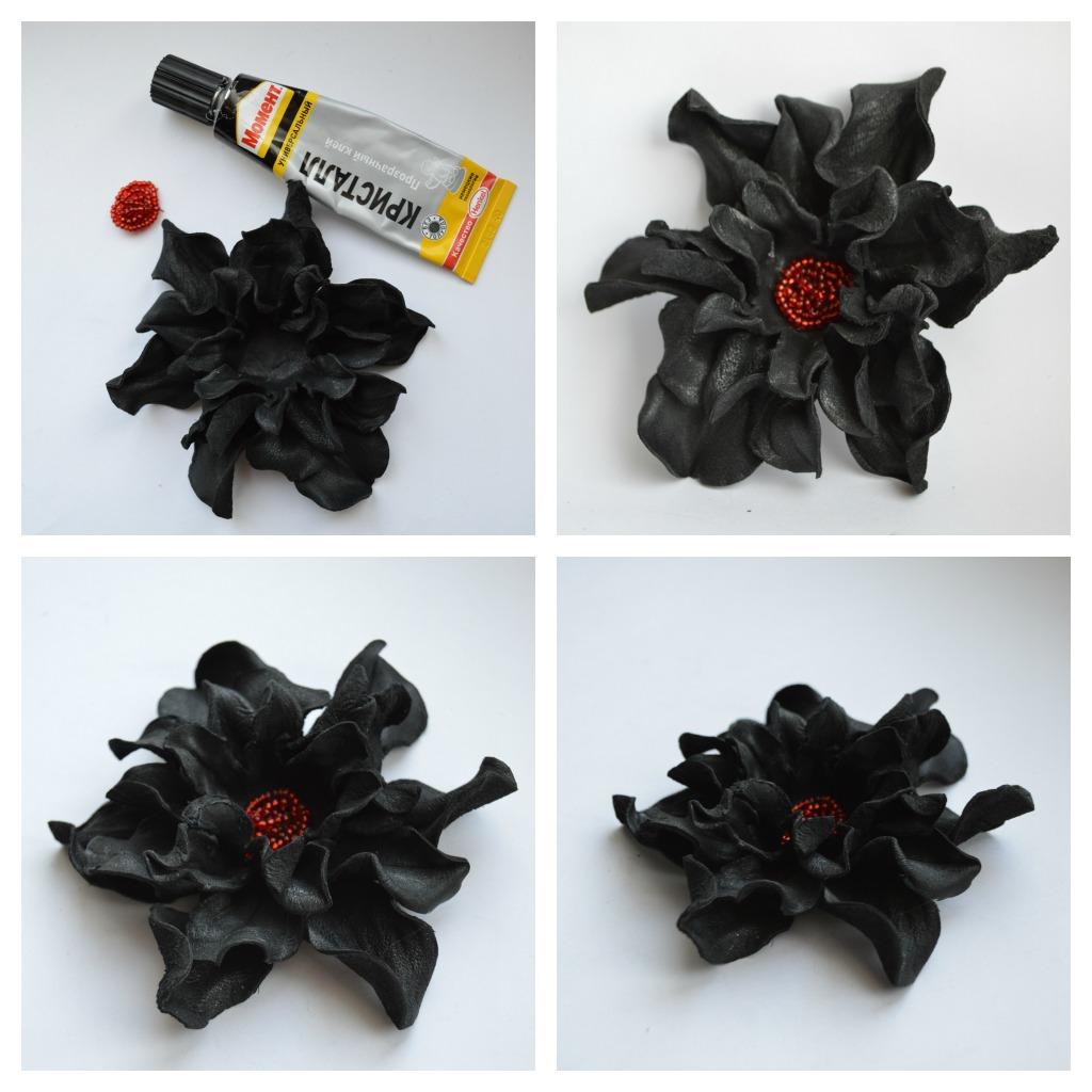 Цветы из кожи картинки 4