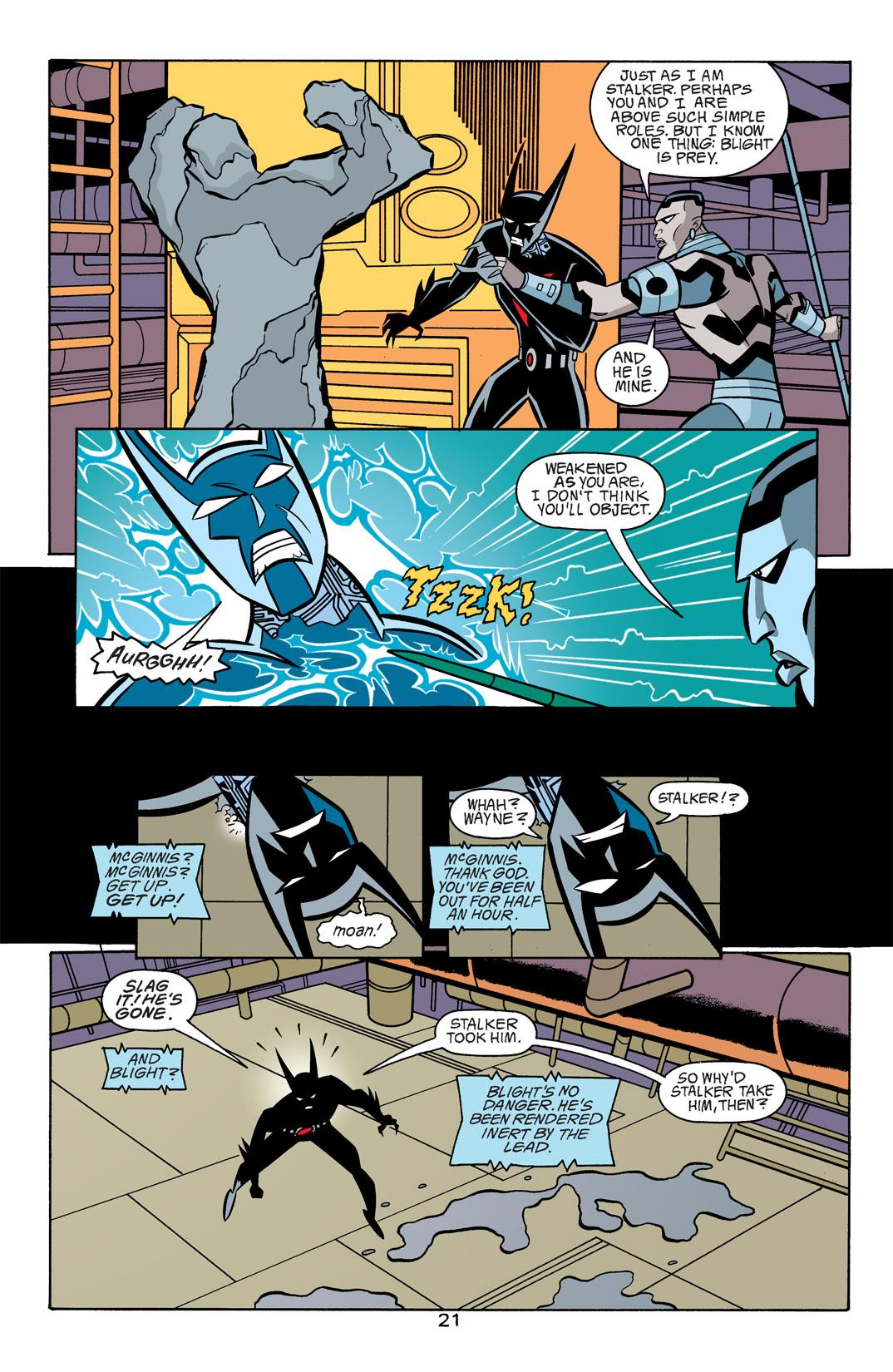 Batman Beyond [II] Issue #18 #18 - English 22