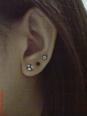 You Can Get A Vertical Lobe Piercing Which Goes Through The Cartilage Behind Your And Will Take As Long Any Other To Heal