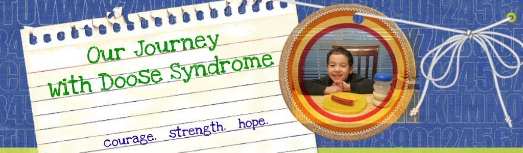 Our Journey With Doose Syndrome