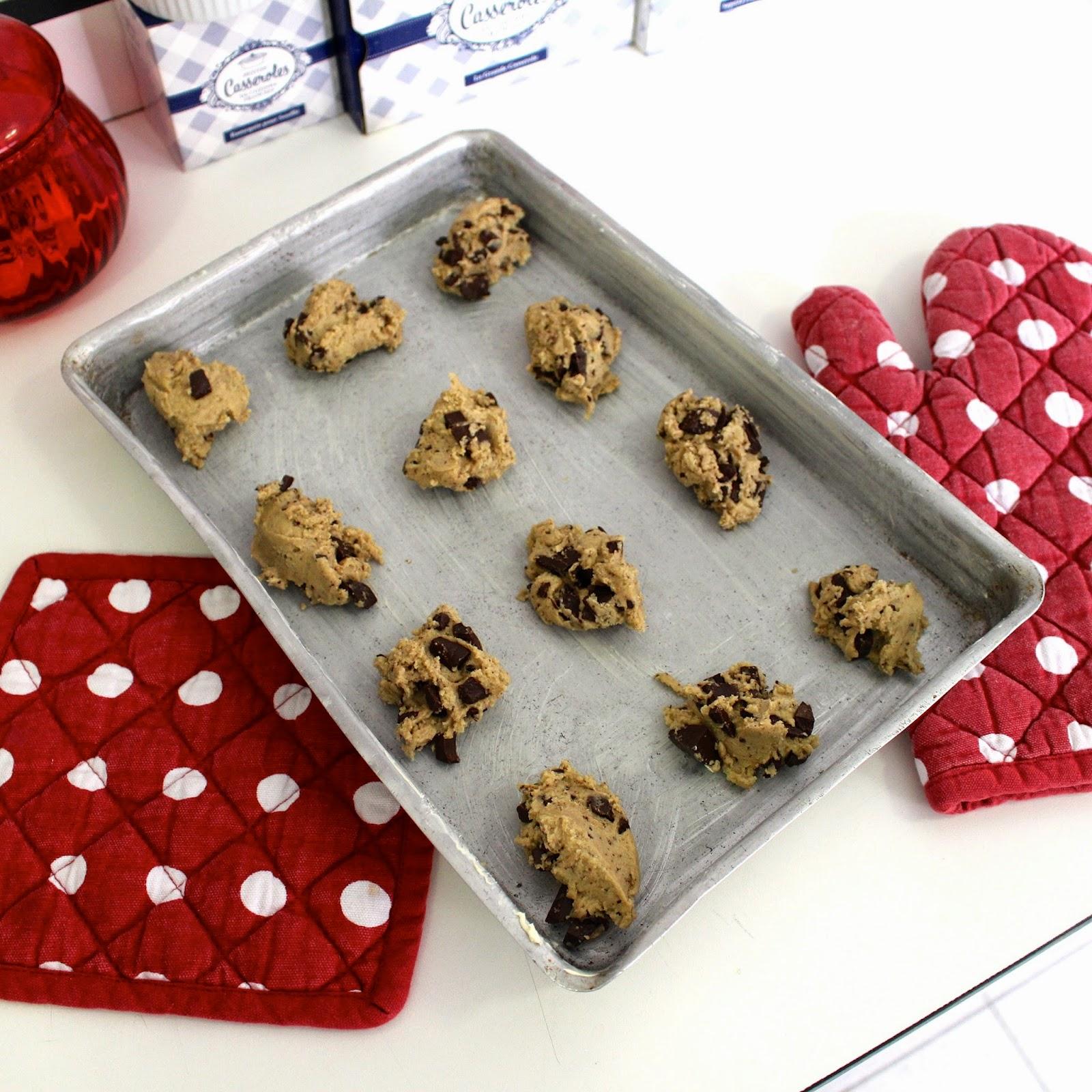 Receita cookie americano