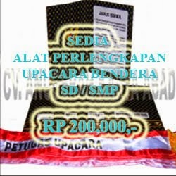 KIT  UPACARA BENDERA