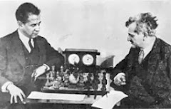Capablanca (blanques) - Lasker. 1925