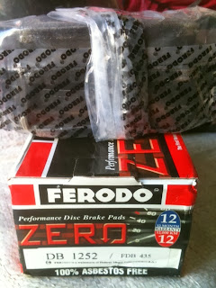 Kampas Rem Hyundai VERNA merk Ferodo  (DB1252/ FDB435)