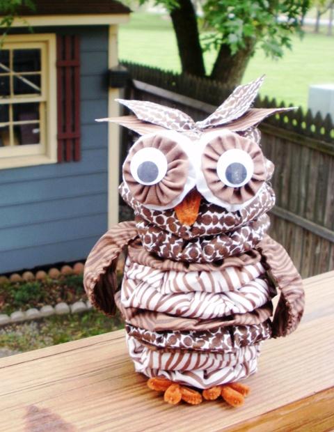 dClarkCreations: Flock of Yo-Yo Owls