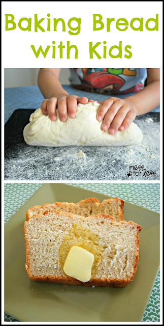Easy Bread Recipe - Make honey bread with kids. Simple and delicious.