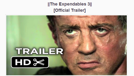 The Expendables 3 (2014) Watch Online Movie