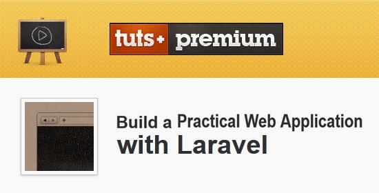 Tutsplus – Build a Practical Web Application with Laravel