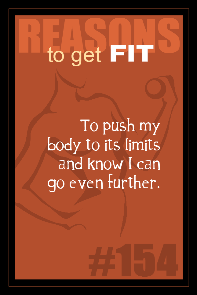 365 Reasons to Get Fit #154