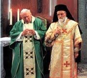 Papa de Roma y Patriarca Melquita
