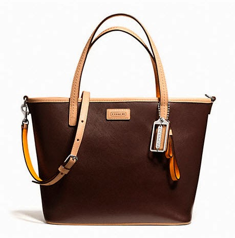 COACH Park Metro Leather Small Tote 25663