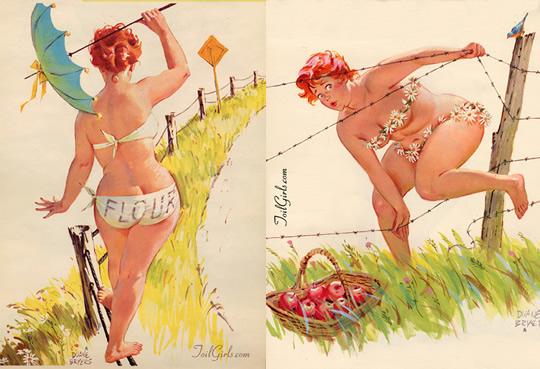 Hilda - a gordinha de Duane Bryers - 01