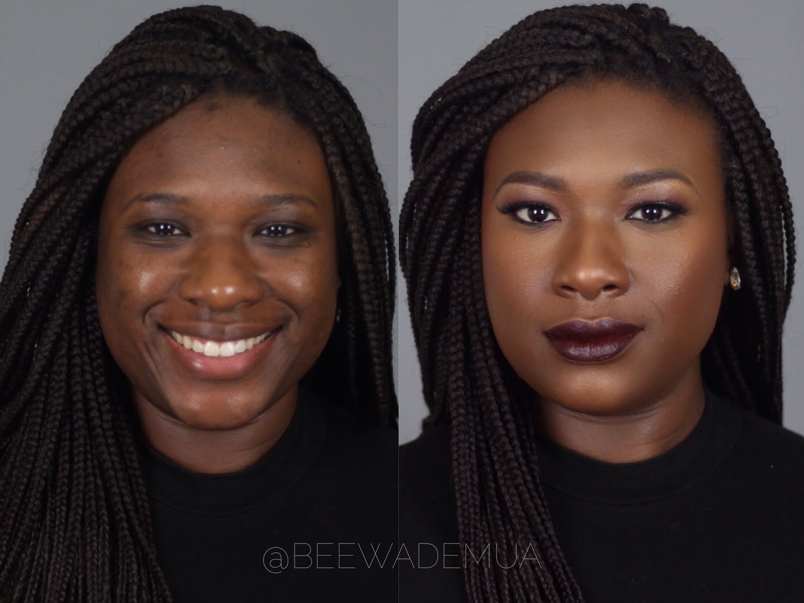 Black Women Before And After Makeup | Www.pixshark.com - Images Galleries With A Bite!
