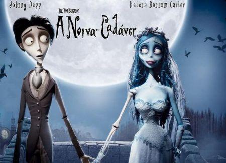"""""""A Noiva-Cadáver"""", de Tim Burton"""