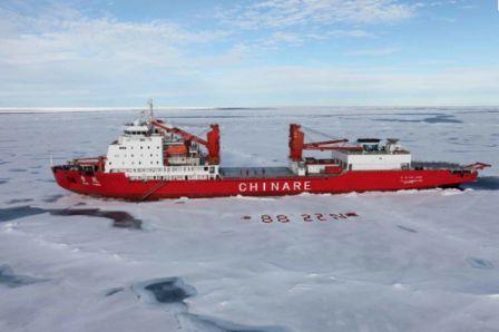 kapal penjelajah es Cina