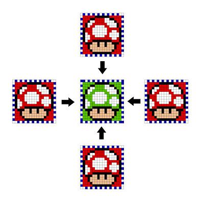 Cubo hecho con Hama Beads