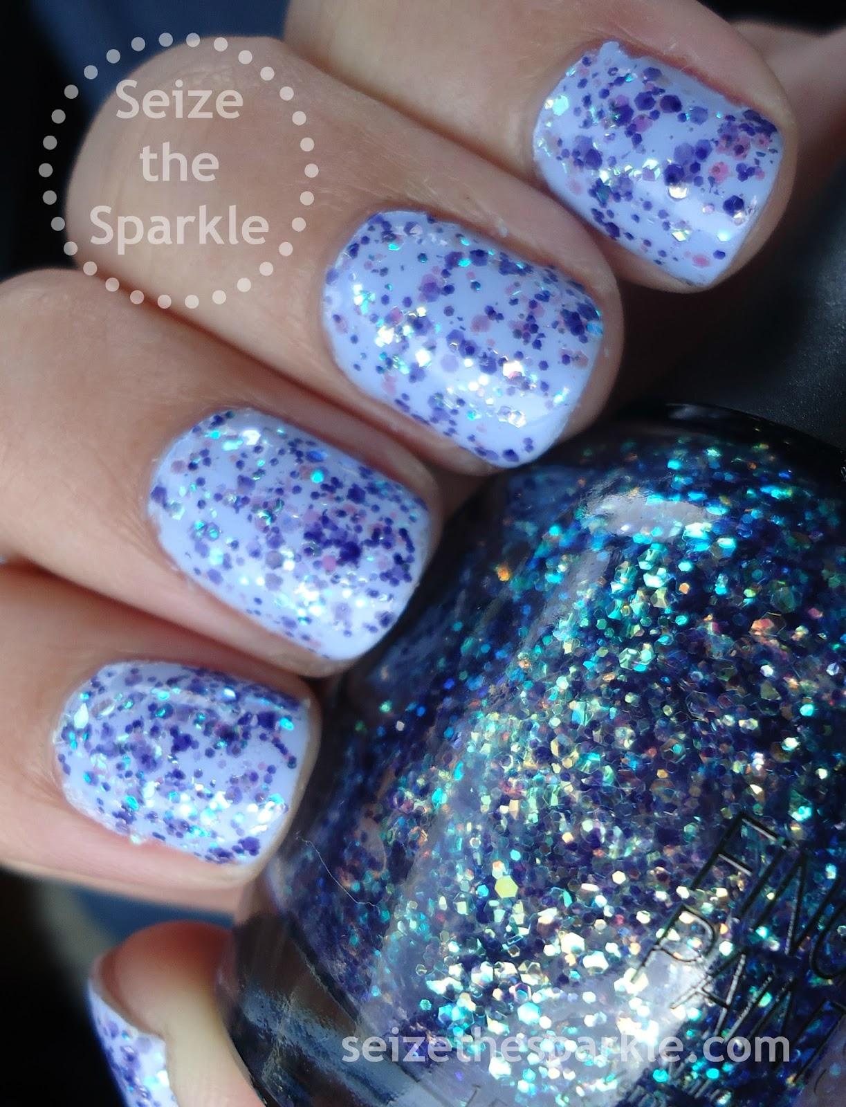Fingerpaints Dabigny's Garden Manicure