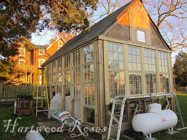 Vintage greenhouses potting sheds victoria elizabeth for Building window design