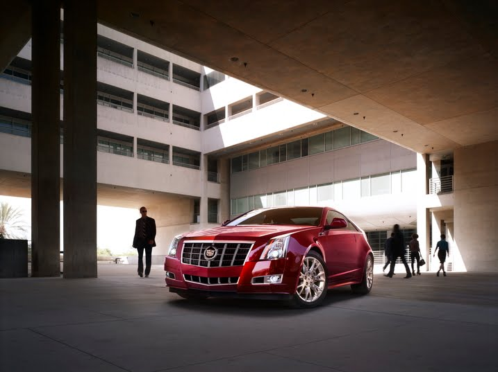 2012 Cadillac CTS Touring Package