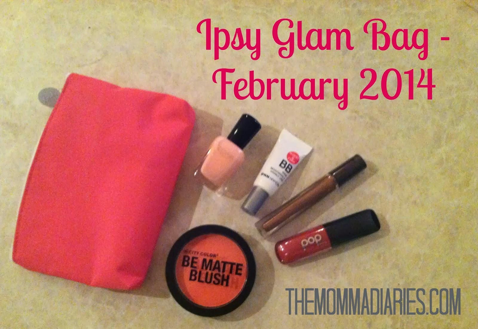 Ipsy Glam Bag February 2014