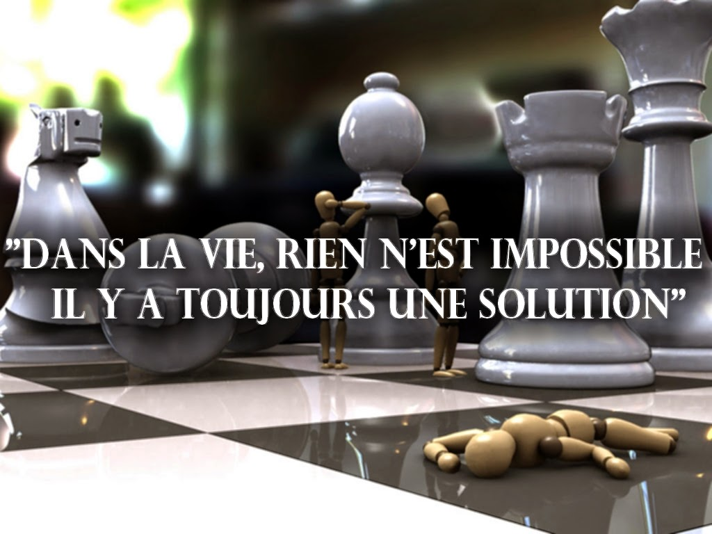 citation sur la solution