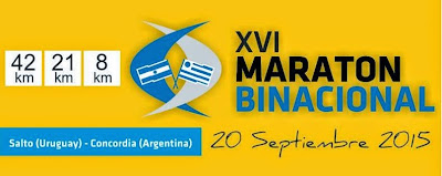 Maratón Binacional Salto - Concordia (20/sep/2015)
