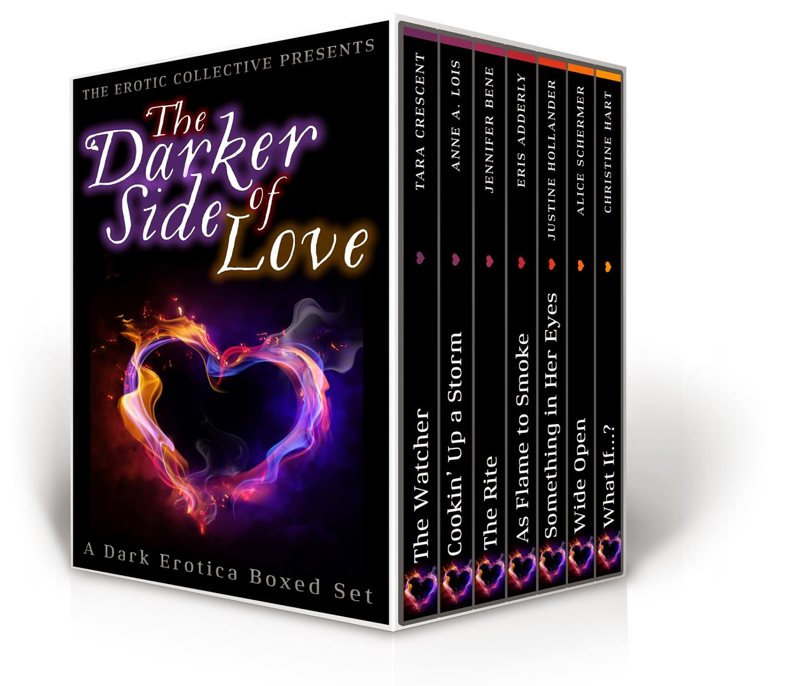 The Darker Side of Love book cover image