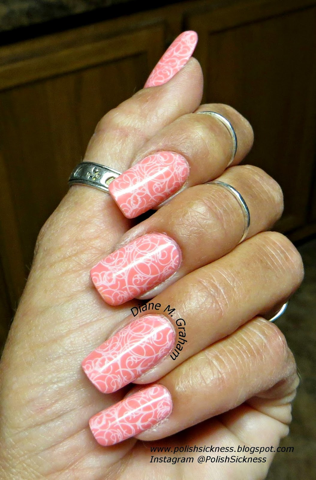 Sally Hansen Peach Beach, Llarowe Lealac LLC-A stamp