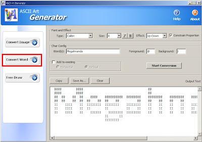 Ascii Art Generator - Ubah Gambar Jadi Tulisan dengan 1 Klik