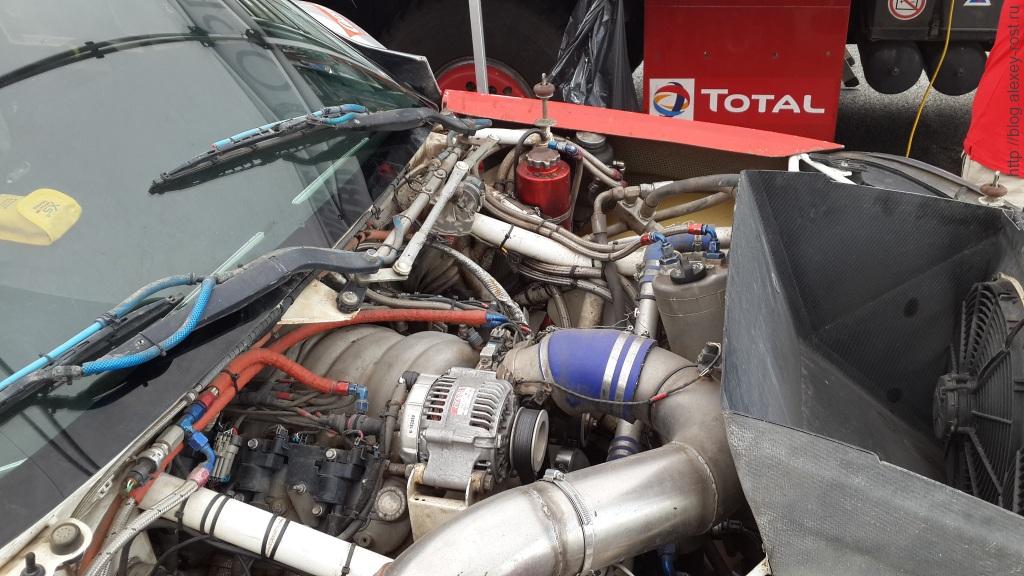Двигатель раллийного Opel Mokka